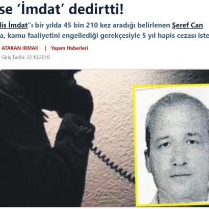 【海外発!Breaking News】1年で4万回以上も緊急通報ナンバーに電話した男「離婚後の孤独に耐えられなかった」(トルコ)
