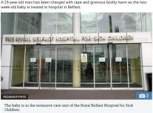 【海外発!Breaking News】生後2週の新生児、25歳男に性的暴行され重傷 近隣住民らショック大きく(北アイルランド)
