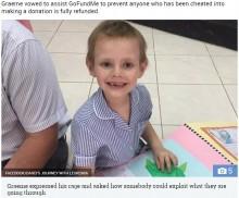 【海外発!Breaking News】白血病女児のための募金サイトを悪用、娘を亡くした両親が激怒