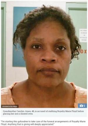 【海外発!Breaking News】48歳祖母、生後1歳8か月の孫を刺しオーブンに入れて焼く(米)