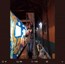 """【エンタがビタミン♪】""""慎吾列車ねぷた""""完成 「夢のキャンバス号」が津軽鉄道に1日限りの運行復活"""