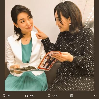 """【エンタがビタミン♪】大江麻理子アナ、踊るのは""""モヤさま""""以来? 『BSテレ東』動画に反響"""