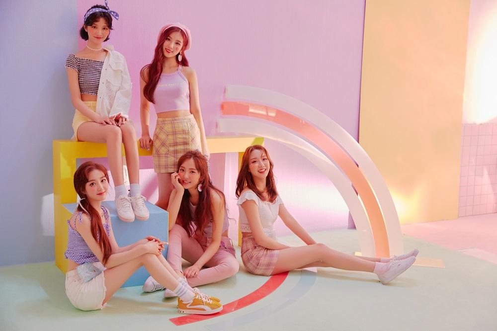 韓国の5人組ガールズグループ「ELRIS」