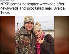 【海外発!Breaking News】新婚カップル、挙式からわずか1時間半後にヘリ墜落死(米)