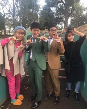 """【エンタがビタミン♪】ミキ亜生""""よしこ""""色ファッションのAmiに可愛い連発 「よしこ、すまん」"""