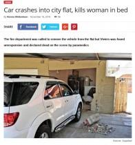 【海外発!Breaking News】深夜にケンタッキーが食べたかった女、ブレーキとアクセルを間違え71歳女性を下敷きに死亡させる(南ア)