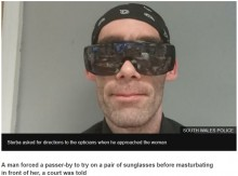 【海外発!Breaking News】眼鏡フェチ男が通行人の女性に眼鏡を無理やりかけ、淫らな行為に(英)