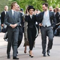 【イタすぎるセレブ達】カーラ・デルヴィーニュ、ユージェニー王女の挙式で掟破りのタキシード着用許可を得ていた