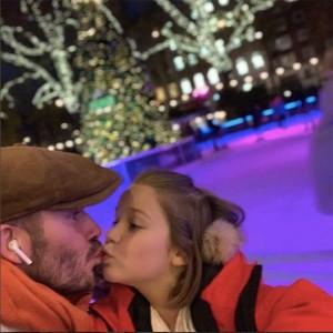 【イタすぎるセレブ達】デヴィッド・ベッカム、再び娘とのキス写真投稿して物議