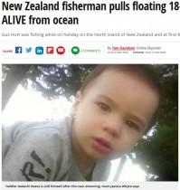 【海外発!Breaking News】キャンプ中にテントを抜け出した1歳児、溺れていたところを釣り人が救出(ニュージーランド)