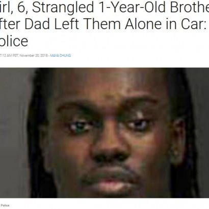 【海外発!Breaking News】車内に放置された間の悲劇 6歳姉が1歳弟をシートベルトで絞殺(米)