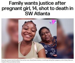 【海外発!Breaking News】妊娠8か月の14歳少女、天井を突き抜けた流れ弾に当たり死亡(米)
