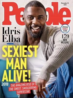 【イタすぎるセレブ達】『People』誌が選ぶ「最もセクシーな男性」 今年はイドリス・エルバ(46)に!