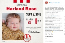 【海外発!Breaking News】KFC、創設者と同じ名前が付けられた女児に現金125万円をプレゼント(米)