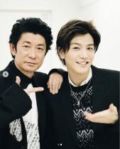 【エンタがビタミン♪】岩田剛典と久しぶりの再会で、永瀬正敏「嬉しかった」と2ショット公開