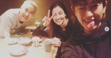 """【エンタがビタミン♪】黒木メイサ、山田優、I-VAN """"team Okinawa""""の宴に「最強のメンバーですね」の声"""