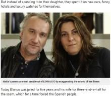 【海外発!Breaking News】娘の病を誇張し、集めた寄付金5,400万円で贅沢三昧した夫婦に懲役刑(スペイン)