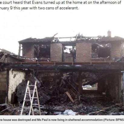 【海外発!Breaking News】元交際相手の放火で自宅全焼 外出日を間違えたことで命拾いした女性(英)