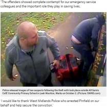 【海外発!Breaking News】消防車から救命器具を盗んだ男に6か月の懲役刑 「極刑を与えるべき」の声(英)