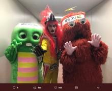 【エンタがビタミン♪】ガチャピン&ムック、JAGUARと3ショット『BSフジ11時間テレビ』で実現