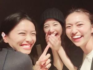 楽しそうな榮倉奈々・吉高由里子・大島優子が集合(画像は『榮倉奈々 2018年11月3日付Instagram「いつかの第?出動」』のスクリーンショット)