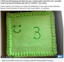 【海外発!Breaking News】息子の誕生日ケーキを注文した両親 「カエルがテーマのはずなのに…」と唖然(豪)