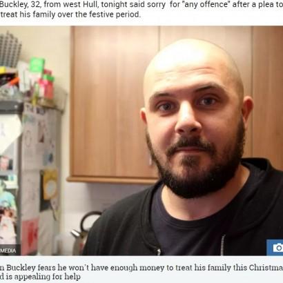 【海外発!Breaking News】「子供たちへクリスマスプレゼントを買ってあげたい」と寄付を募った5児の父親(英)