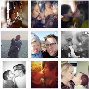 【海外発!Breaking News】「私達はベッカムの味方」子供とのキス写真をSNSに投稿する親が続出