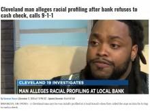 【海外発!Breaking News】給料小切手の現金化を銀行で断られた黒人男性、警察に通報される(米)