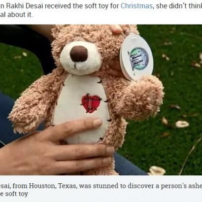 【海外発!Breaking News】クリスマスプレゼントのテディベアの中から人の遺灰見つかる(米)
