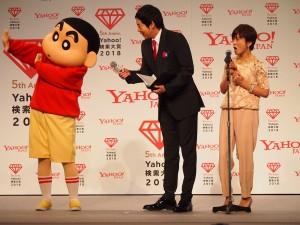 「声優部門賞」小林由美子には、自身が担当する野原しんのすけも登場