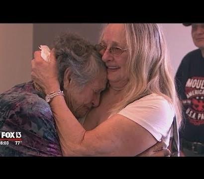 【海外発!Breaking News】死んだはずの娘と69年の時を経て対面した母(米)<動画あり>