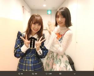 【エンタがビタミン♪】SKE48高柳明音×後藤真希の2ショットに反響 「ほとんど奇跡や」