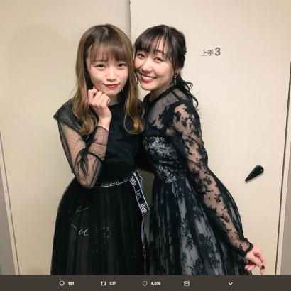【エンタがビタミン♪】SKE48須田亜香里、NGT48中井りかとコラボ「一緒に仕事すると火傷しそう…」