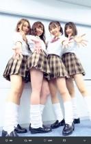 """【エンタがビタミン♪】SKE48のルーズソックス姿、須田亜香里が""""1位""""を記念して投稿"""