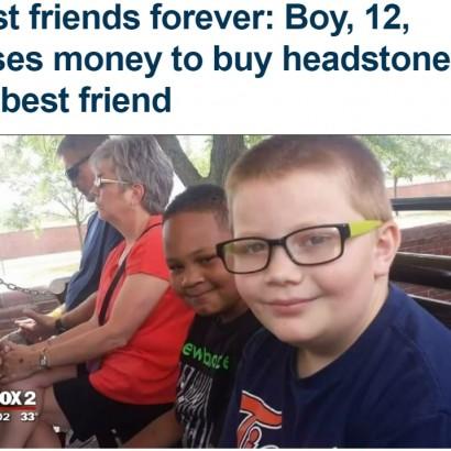 【海外発!Breaking News】亡き親友の墓を買うため働く12歳少年(米)