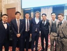 【エンタがビタミン♪】JOY、サッカー日本代表と並んでも違和感無し 自らを「ベッカム」タグ付け