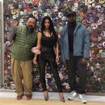 【イタすぎるセレブ達】キム・カーダシアン&カニエ・ウェスト夫妻、日本再訪で村上隆氏のスタジオへ