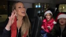 【イタすぎるセレブ達】マライア・キャリー、車内で双子の子供達と『恋人たちのクリスマス』を熱唱