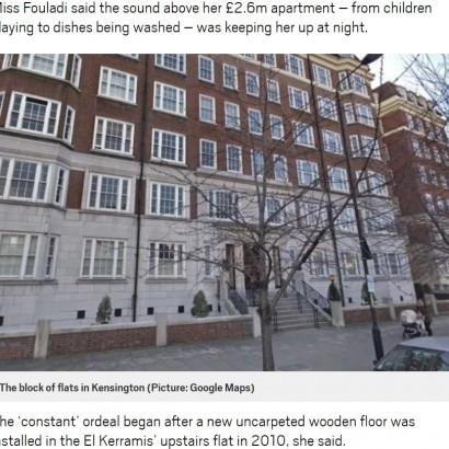 【海外発!Breaking News】上階の騒音被害を訴えた女性、1,500万円超の損害賠償金を受け取ることに(英)