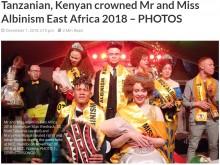 【海外発!Breaking News】アルビノビューティーコンテスト開催 参加者らアルビノ狩り根絶訴える(ケニア)