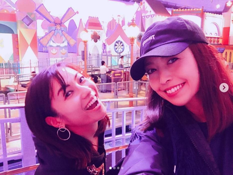 「生年月日が一緒」の内山理名と片瀬那奈(画像は『nana_katase 2018年12月5日付Instagram「昨日の私達」』のスクリーンショット)
