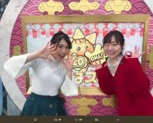 【エンタがビタミン♪】須田亜香里×西野未姫『おはスタ』登場に反響 「もの凄いツーショットですね」