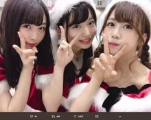 """【エンタがビタミン♪】AKB48大家志津香""""サンタ""""風衣装を見た後輩の言葉に「こんな下手な励まし方されたのは初めて」"""