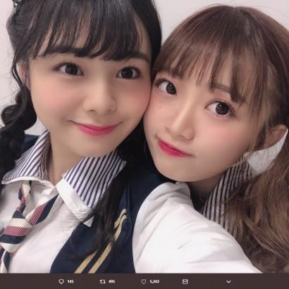 【エンタがビタミン♪】NGT48中井りか、チームGキャプテン本間日陽は「いつもわたしの心の支え」