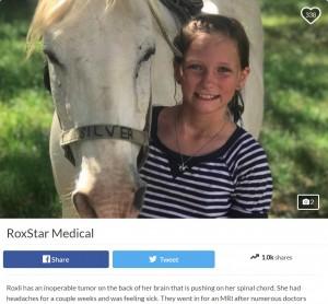 【海外発!Breaking News】11歳少女の手術不可能な脳腫瘍が消えて無くなる 「神の奇跡」と家族ら(米)
