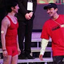 【エンタがビタミン♪】武田真治『紅白』リハで「ISSAくんにも逢いました」 笑顔の2ショット公開