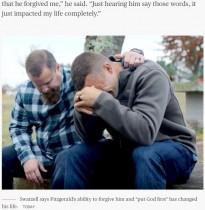 【海外発!Breaking News】妻と子供の命を奪われた男性、加害者と友情を築く(米)