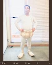 """【エンタがビタミン♪】ドランクドラゴン塚地""""イカ大王""""パンツで「フレディ・マーキュリー感」漂わすポーズ"""