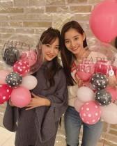 【エンタがビタミン♪】新木優子、誕生日サプライズを企画してくれた板野友美に感謝 2ショットに「似てる」の声も